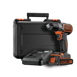 Black and Decker - Taladro Atornillador 18V AUTOSELECT y AUTOSENSE - ASD18K
