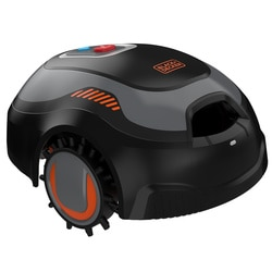 Black and Decker - Robot Cortacsped con Limpiador integrado - BCRMW122