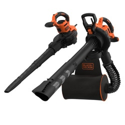 Black and Decker - SopladorAspiradorTriturador 3000W - BEBLV300
