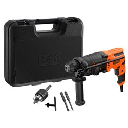 Black and Decker - Martillo SDSPlus 650W con maletn - BEHS01K