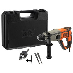 Black and Decker - Martillo SDSPlus 800W con maletn - BEHS02K