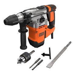 Black and Decker - Martillo SDSPlus 1250W con maletn - BEHS03K