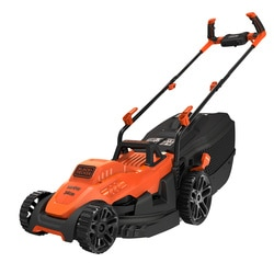 Black and Decker - Cortacsped 1400W 34cm con empuadura engomada - BEMW461BH