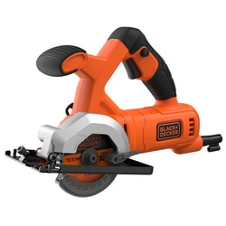 Black and Decker - MiniSierra Circular 400W 85mm con 2 discos - BES510