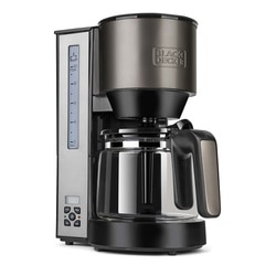 Black and Decker - Cafetera de filtro 1000W - BXCO1000E