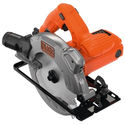 Black and Decker - Sierra Circular 1250W 66mm y hoja adicional - CS1250LA