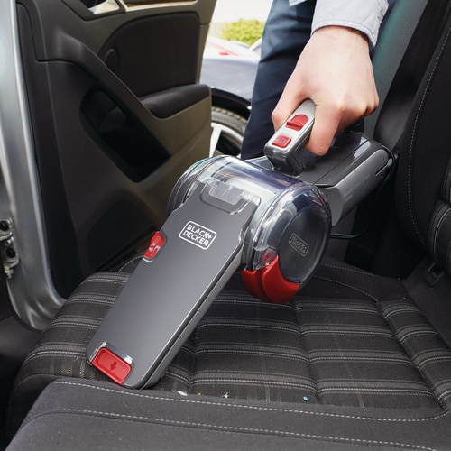 Black and Decker - Aspirador de coche Pivot 12V - PV1200AV