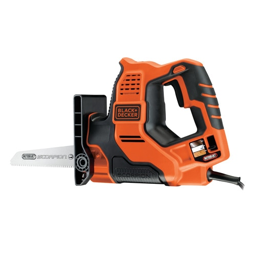 Black and Decker - Serrucho elctrico Scorpion 500W con tecnologa Autoselect - RS890K