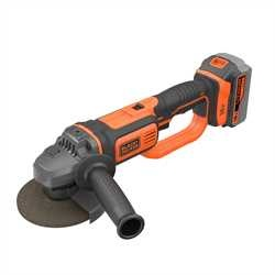 Black and Decker - Amoladora 18V 125mm con 1 batera 40Ah - BCG720M1