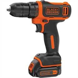 Black and Decker - Taladro atornillador 108V Ultra Compacto Litio con maletn - BDCDD12K