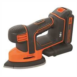 Black and Decker - Lijadora de detalle Mouse 18V 15Ah - BDCDS18