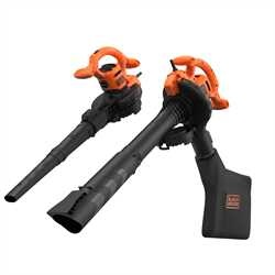 Black and Decker - Aspiradorsopladortriturador 2600W - BEBLV260