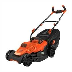 Black and Decker - Cortacsped 1600W 38cm con empuadura engomada - BEMW471BH