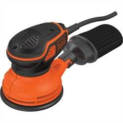 Black and Decker - Lijadora rotorbital 240W con accionador a presin - KA199