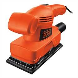 Black and Decker - Lijadora orbital 135W de 13 de hoja - KA300