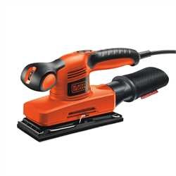 Black and Decker - Lijadora orbital compacta 240W 13 hoja Velocidad Variable - KA320EKA