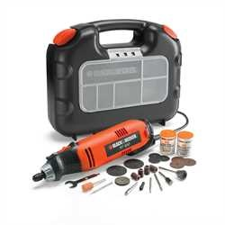 Black and Decker - Herramienta Multiuso en maletn  87 accesorios - RT650KA