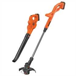 Black and Decker - Cortabordes 18V  Soplador 18V - ST1823GWC18