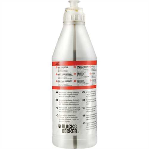 Black and Decker - Aceite ecolgico biodegradable de 1L - A6023