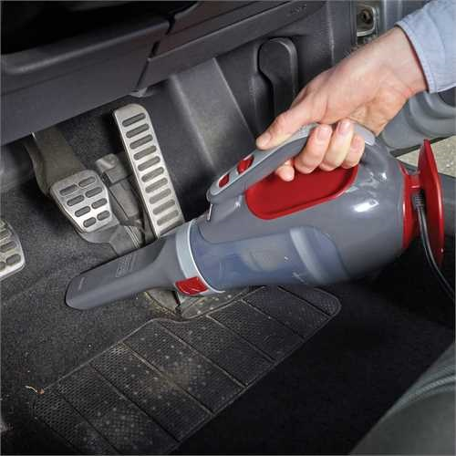 Black and Decker - Aspirador de coche 12V - ADV1200