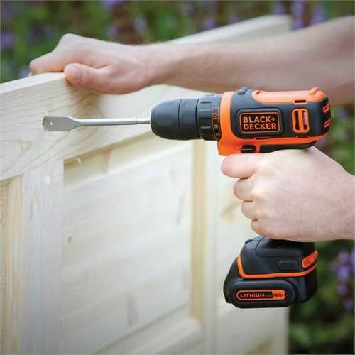 Black and Decker - Taladro atornillador 108V Litio - BDCDD12KB