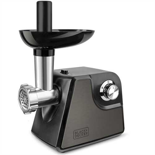 Black and Decker - Picadora de carne 1000W - BXMM1000E