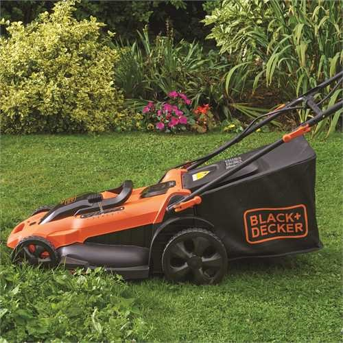 Black and Decker - Cortacsped Autosense 36V 48cm con 2 bateras - CLMA4820L2