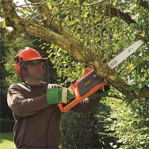 Black and Decker - Motosierra 1800W 35cm - CS1835