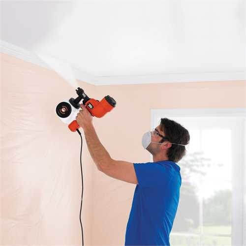 Black and Decker - Sistema de rociado fino  Turbina de mano - HVLP200