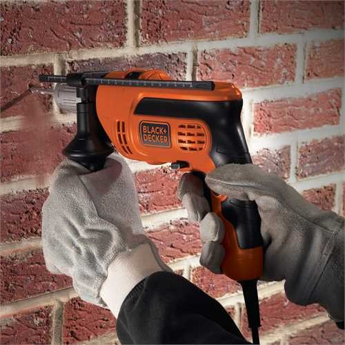 Black and Decker - Taladro percutor 600W - KR604CRESK