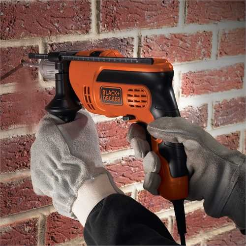 Black and Decker - Taladro percutor 710W con maletn - KR714CRESK