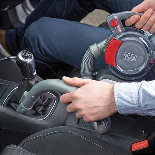 Black and Decker - Aspirador de coche Flexi 12V - PD1200AV